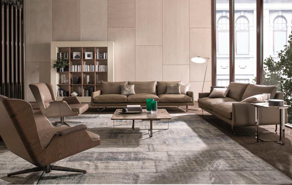 Мягкая мебель - Высокие интерьеры