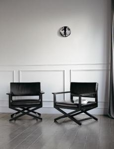Кресло Casamilano Martin Pelle - Высокие интерьеры