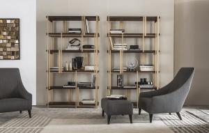 Кресло Casamilano Mondrian Magenta Bergere - Высокие интерьеры