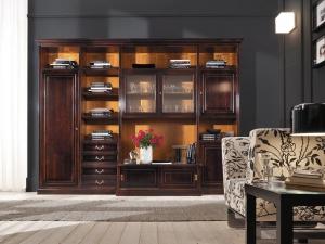Библиотека FM Bottega d'Arte S Classico - Высокие интерьеры