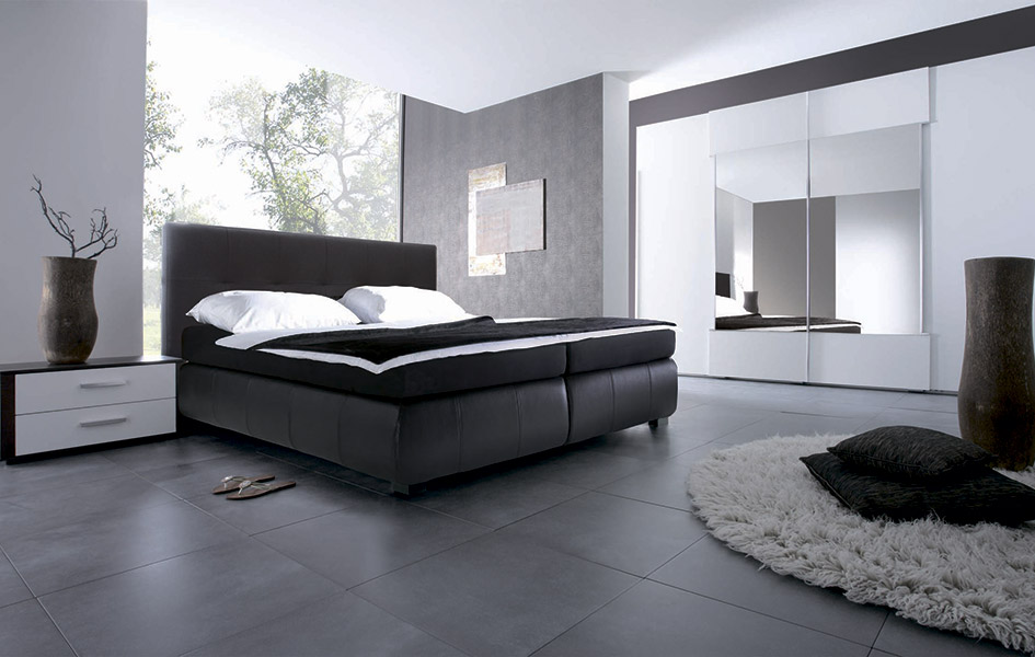 Спальни - корпусная мебель - Высокие интерьеры