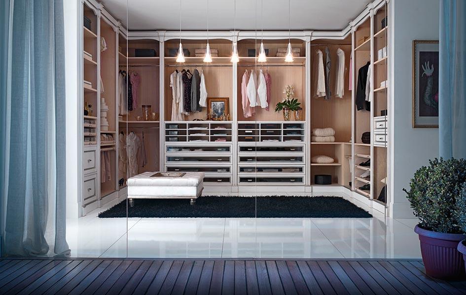 Гардеробные - корпусная мебель - Высокие интерьеры