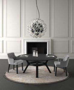 Столы и стулья Casamilano Tavolo Eaton Piano Legno Diagonale New - Высокие интерьеры