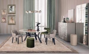 Столы и стулья Casamilano Eaton Royale - Высокие интерьеры