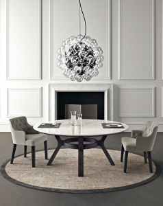 Столы и стулья Casamilano Eaton Royale Capitone - Высокие интерьеры