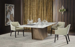 Столы и стулья Casamilano Ercole Magenta - Высокие интерьеры