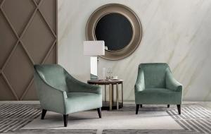 Столы и стулья Casamilano Magenta Armchair Mondrian Narciso - Высокие интерьеры
