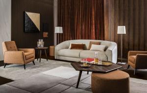 Столы и стулья Casamilano Mayfair Tribeca Leonardo Viola XL - Высокие интерьеры