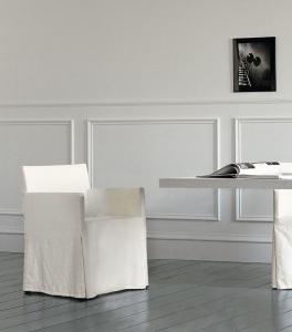 Столы и стулья Casamilano Quadra Housse - Высокие интерьеры
