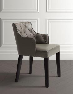 Столы и стулья Casamilano Royale Capitone Legno - Высокие интерьеры