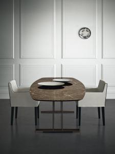 Столы и стулья Casamilano Santiago Ovale - Высокие интерьеры