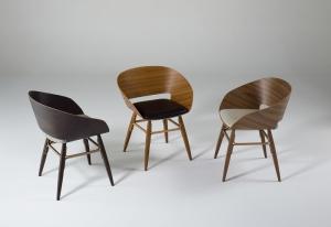 Столы и стулья Emmemobili Angelina - Высокие интерьеры