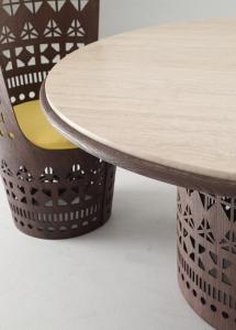 Столы и стулья Emmemobili Dogon T - Высокие интерьеры