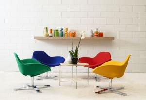 Столы и стулья Emmemobili Spring - Высокие интерьеры