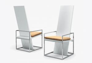 Столы и стулья Emmemobili Straight - Высокие интерьеры