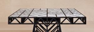 Столы и стулья Emmemobili Tudor T - Высокие интерьеры