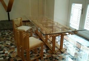 Столы и стулья Emmemobili Yaguara - Высокие интерьеры